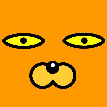 ネコの顔のアップのアイコン(4)画像7