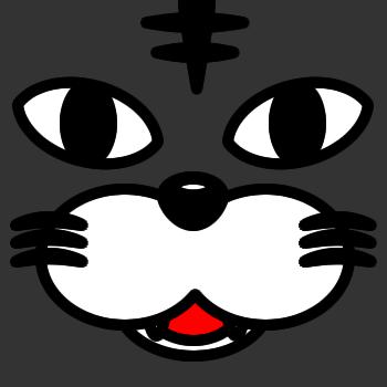 ネコの顔のアップのアイコン(5)画像2