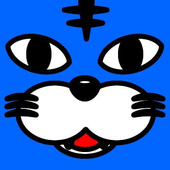 ネコの顔のアップのアイコン(5)画像4