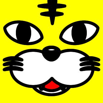 ネコの顔のアップのアイコン(5)画像5
