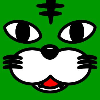 ネコの顔のアップのアイコン(5)画像6