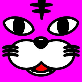ネコの顔のアップのアイコン(5)画像8