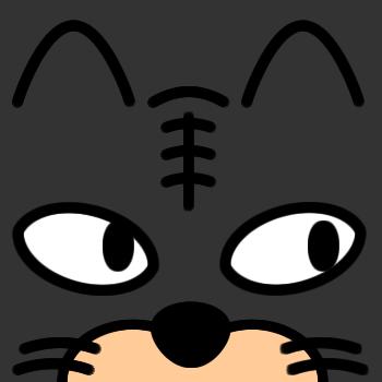 ネコの顔のアップのアイコン(6)画像2