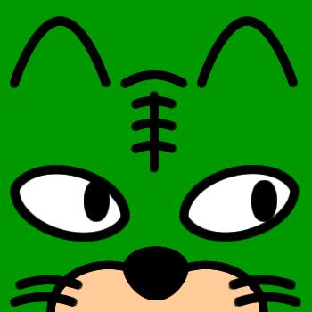 ネコの顔のアップのアイコン(6)画像6