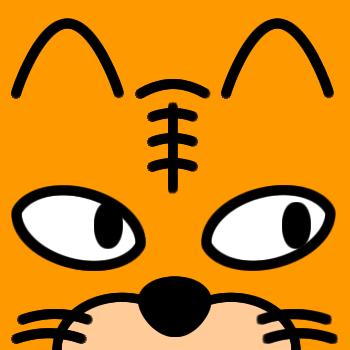 ネコの顔のアップのアイコン(6)画像7