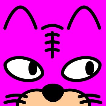 ネコの顔のアップのアイコン(6)画像8