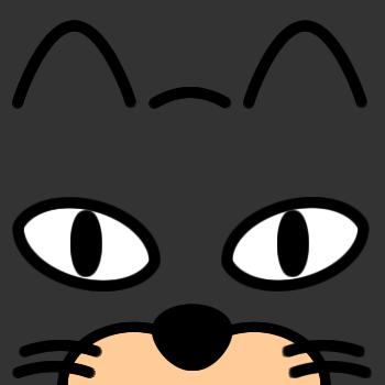 ネコの顔のアップのアイコン(7)画像2