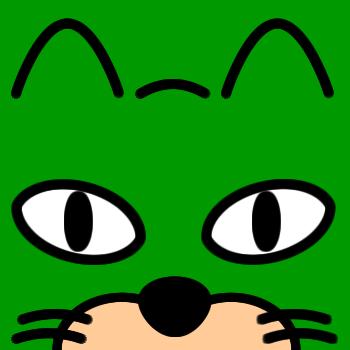 ネコの顔のアップのアイコン(7)画像6
