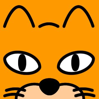 ネコの顔のアップのアイコン(7)画像7
