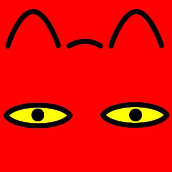 ネコの顔のアップのアイコン(8)画像3