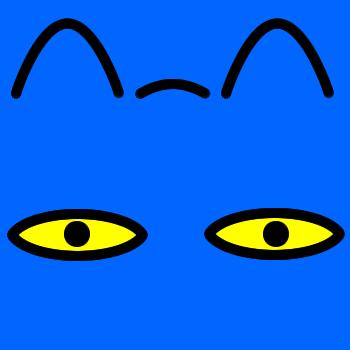 ネコの顔のアップのアイコン(8)画像4