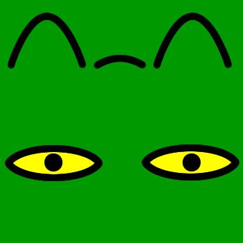 ネコの顔のアップのアイコン(8)画像6
