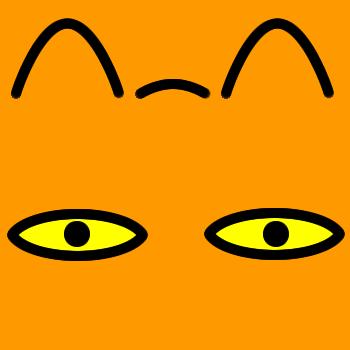 ネコの顔のアップのアイコン(8)画像7