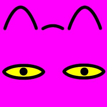 ネコの顔のアップのアイコン(8)画像8