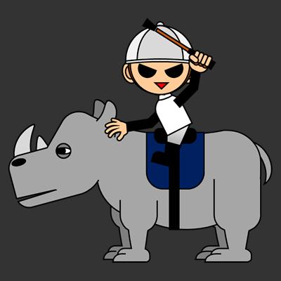 サイの乗る騎手のアイコン(1)画像2