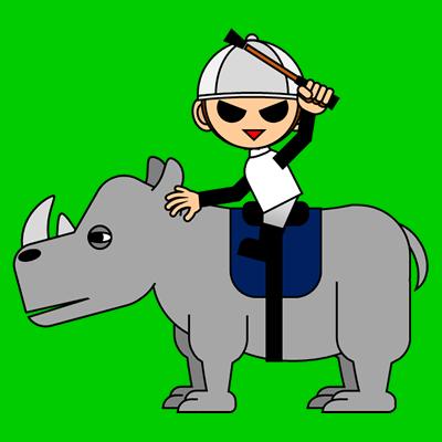 サイの乗る騎手のアイコン(1)画像6