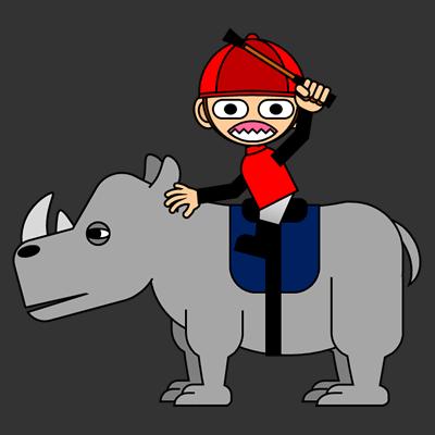 サイの乗る騎手のアイコン(3)画像2