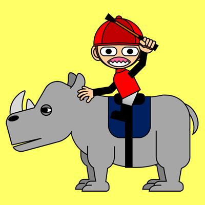 サイの乗る騎手のアイコン(3)画像5