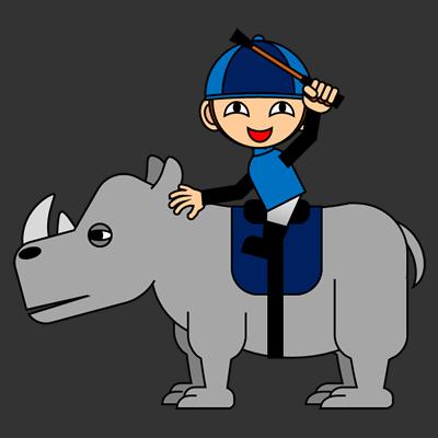 サイの乗る騎手のアイコン(4)画像2