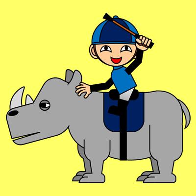 サイの乗る騎手のアイコン(4)画像5