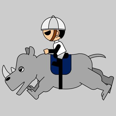 サイの乗る騎手のアイコン(9)画像