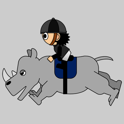 サイの乗る騎手のアイコン(10)画像