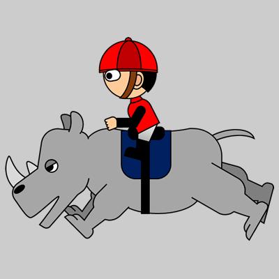サイの乗る騎手のアイコン(11)画像