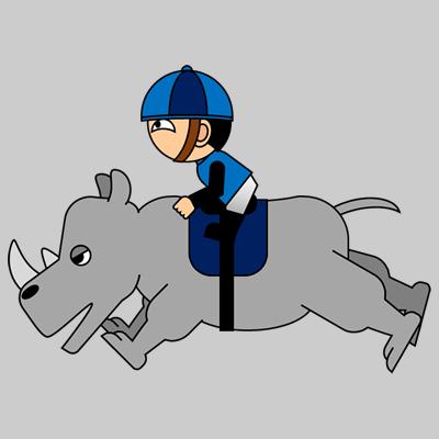 サイの乗る騎手のアイコン(12)画像