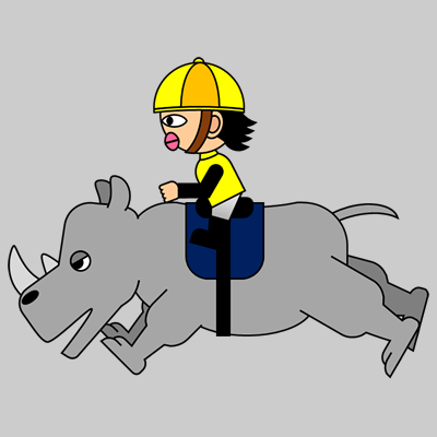 サイの乗る騎手のアイコン(13)画像