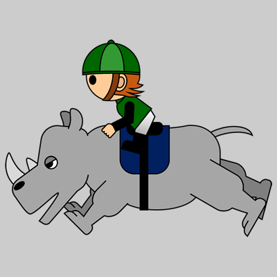 サイの乗る騎手のアイコン(14)画像