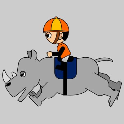 サイの乗る騎手のアイコン(15)画像