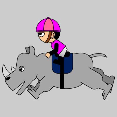 サイの乗る騎手のアイコン(16)画像