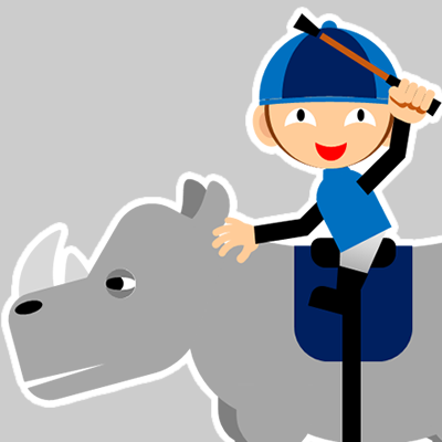 サイの乗る騎手のアイコン(20)画像