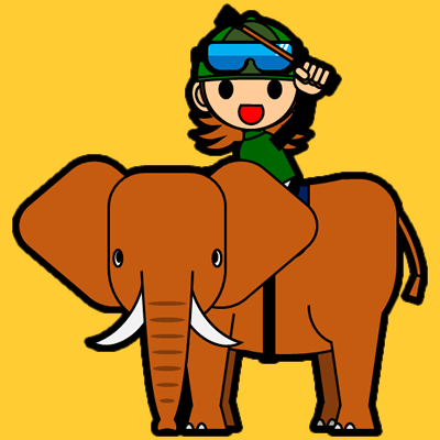 ゾウに乗る騎手のアイコン(14)画像7