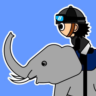 ゾウに乗る騎手のアイコン(18)画像4