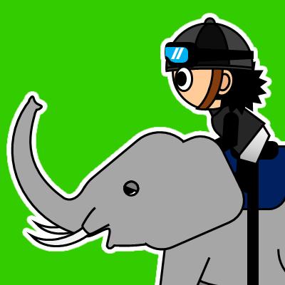 ゾウに乗る騎手のアイコン(18)画像6