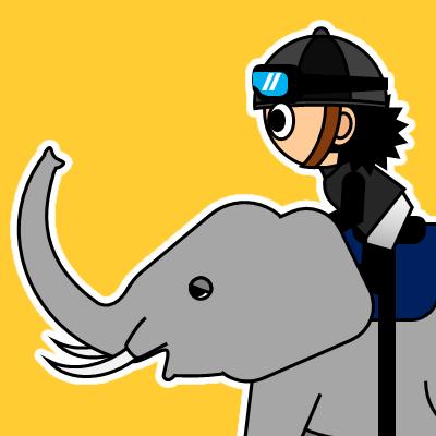 ゾウに乗る騎手のアイコン(18)画像7