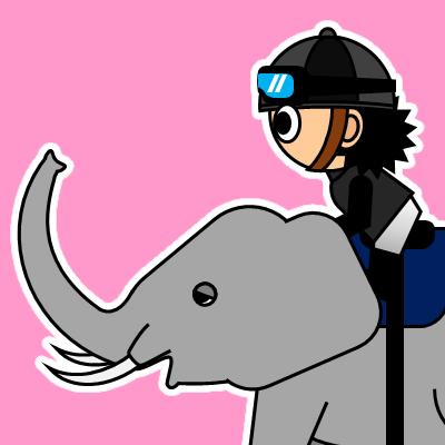 ゾウに乗る騎手のアイコン(18)画像8