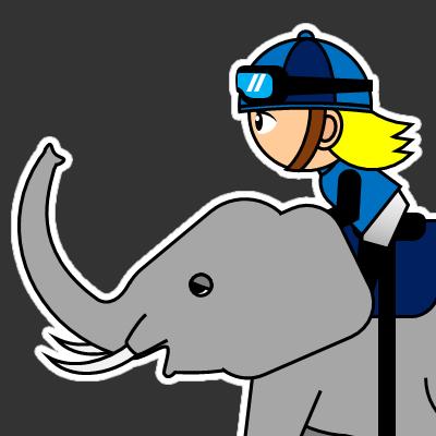 ゾウに乗る騎手のアイコン(20)画像2