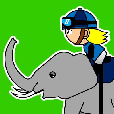 ゾウに乗る騎手のアイコン(20)画像6