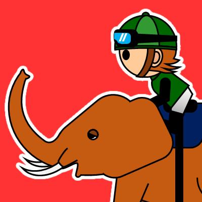 ゾウに乗る騎手のアイコン(22)画像3
