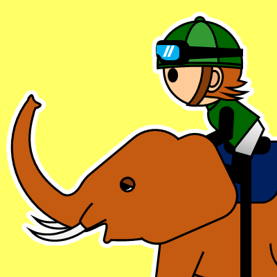 ゾウに乗る騎手のアイコン(22)画像5