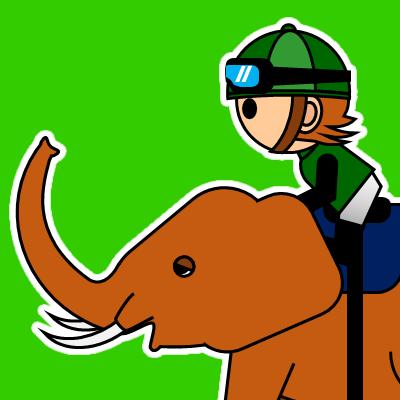 ゾウに乗る騎手のアイコン(22)画像6