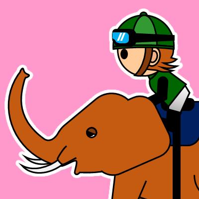 ゾウに乗る騎手のアイコン(22)画像8