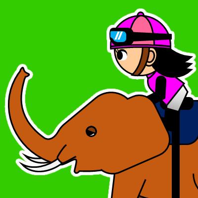 ゾウに乗る騎手のアイコン(24)画像6