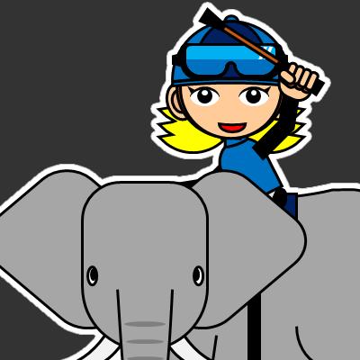 ゾウに乗る騎手のアイコン(28)画像2