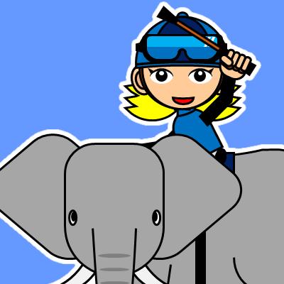 ゾウに乗る騎手のアイコン(28)画像4