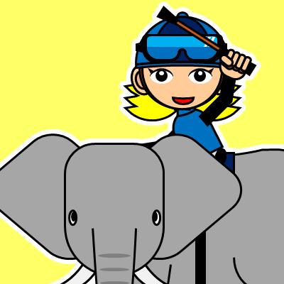 ゾウに乗る騎手のアイコン(28)画像5