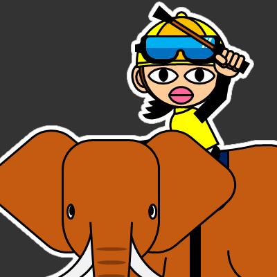 ゾウに乗る騎手のアイコン(29)画像2