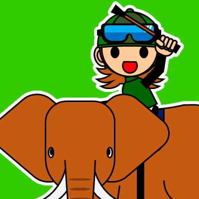 ゾウに乗る騎手のアイコン(30)画像6
